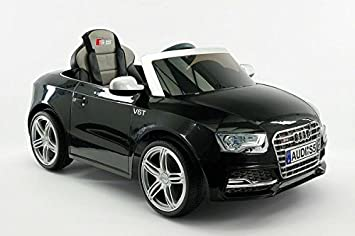 kids electric ride on car mp3 input 12v battery power officially licensed audi s5 sport