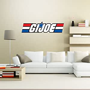 "G.I. Joe Real American Hero Wall Graphic Decal Sticker 28"" x 7"""
