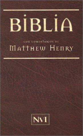 Download Biblia con comentarios de Matthew Henry (Spanish Edition) pdf epub