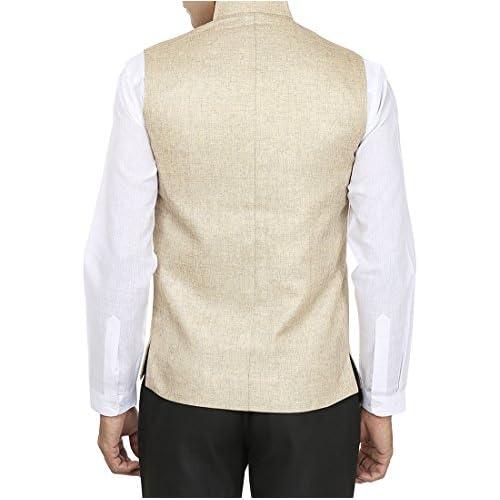 41Q6Psdqv1L. SS500  - Wintage Men's Rayon Waistcoat