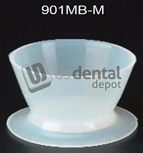 PLASDENT - Silicone Mini Bowls/Medium - # 901MB-M - 30cc - (2pcs/box) 001-901MB-M DENMED Wholesale