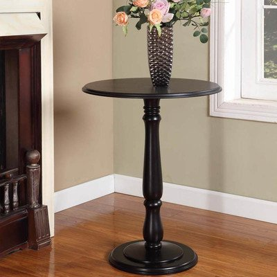 Pedestal Plant Stand Finish: Black