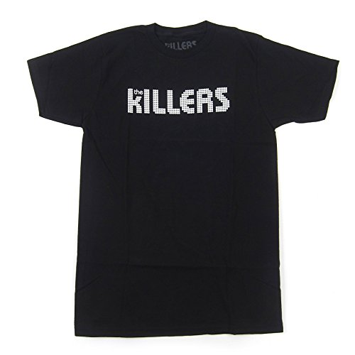 Bravado Men's Killers White Logo Shirt, Black, Small