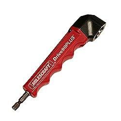 Milescraft 1303 Drive90plus Impact Ready Right Angle Drill Attachment