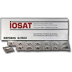 IOSAT Potassium Iodide Tablets June 2024 Expiration Date or later