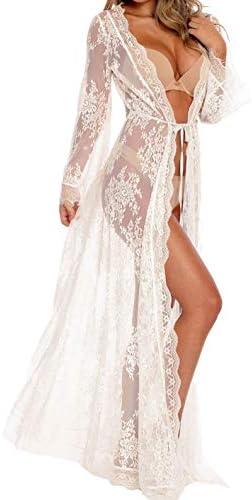 Women Through Lingerie Kimono Swimsuit product image