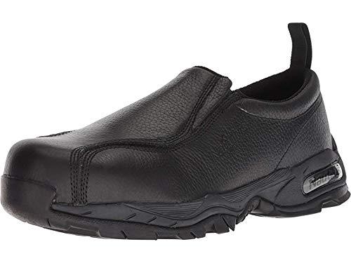 Nautilus 1630 Full Grain Leather ESD  Safety Toe Slip-On,Black,9.5 M