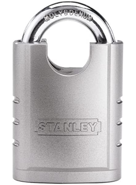 Shrouded padlock for storage units