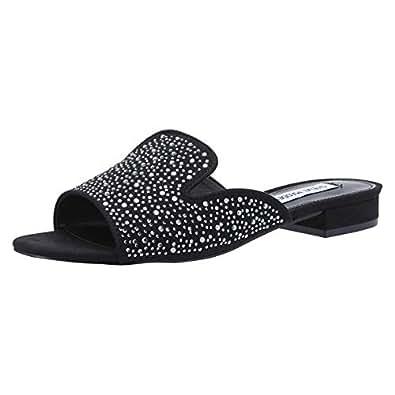 Steve Madden Slide Slippers for Women - Black