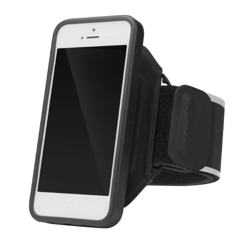 - Incase Sports Armband Deluxe for iPhone 5 - Black/Sliver