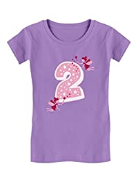I'm 2 2nd Birthday Fairy Party Toddler Gift Toddler/Kids Girls' Fitted T-Shirt