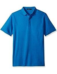 BUGATCHI Men's Classic Polo Blue