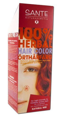 Sante Herbal Hair Color, Natural Red, 3.52 Ounce