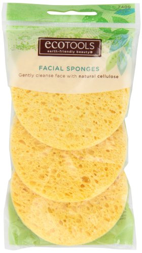 EcoTools: Three Cellulose Facial Sponges