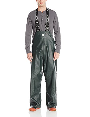 Helly Hansen Workwear Men's Highliner Fishing Bib Pant, Dark Green, XL ()