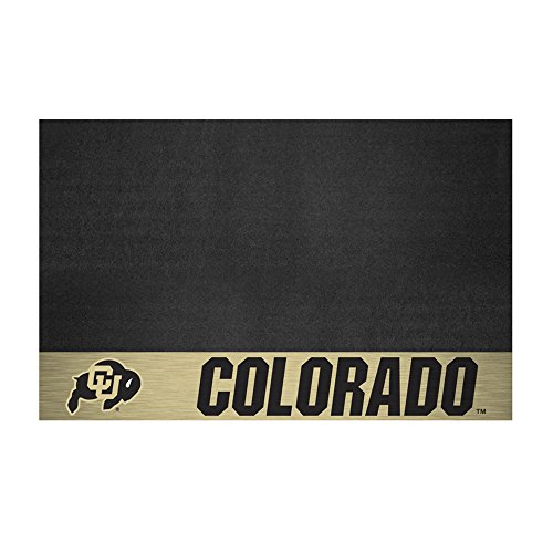 NCAA University of Colorado Grill Mat, Small, Black