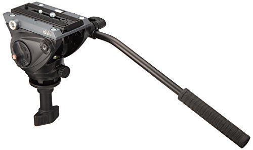 Manfrotto MVH500A Pro Fluid Head with 60mm Half Ball (Black)