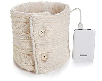 Heated Scarf Battery Powered Rechargeable Fashion Neck