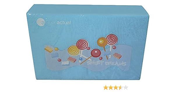 Asalvo Sweet Dreams - Pack colchón plegable para cuna de viaje 60 x 120 y bolsa de transporte, color azul: Amazon.es: Bebé