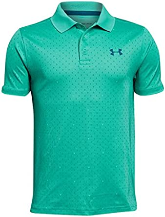 Under Armour Chicos Rendimiento Polo de Manga Corta: Amazon.es ...