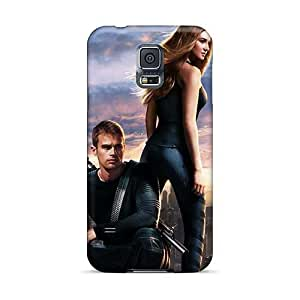 Great Hard Cell-phone Case For Samsung Galaxy S5 (rgf29724COEW) Allow Personal Design Vivid Divergent 2014 Movie Pictures
