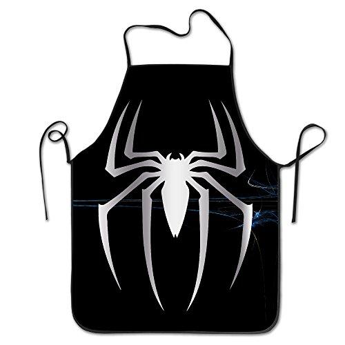 Spider Man Platinum Style Stitched Edges Cooking Apron
