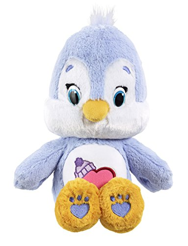 Vivid Imaginations Care Bears Cousins Cozy Heart Penguin Plush Toy with DVD (Medium, Multi-Colour)