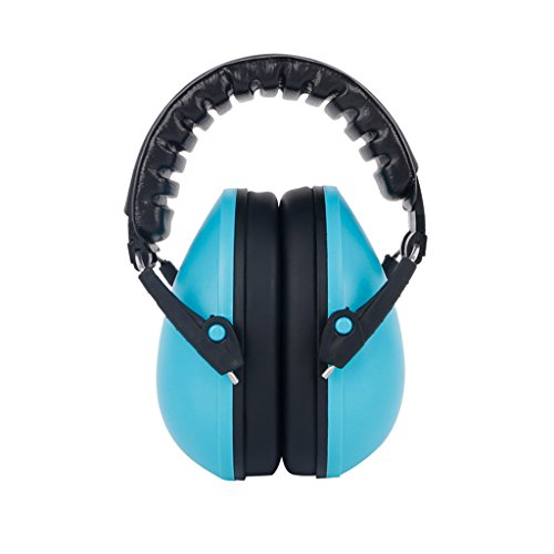 Onpiece 21dB Baby Care Ear Muffs Hearing Protection Noise Reduction Ear Defenders Safety (Blue) from Onpiece