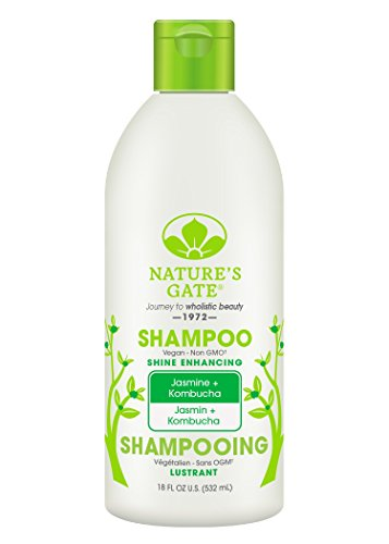 By Jasmine Shampoo - Nature's Gate Jasmine + Kombucha Shine Enhancing Shampoo, 18 Fluid Ounce