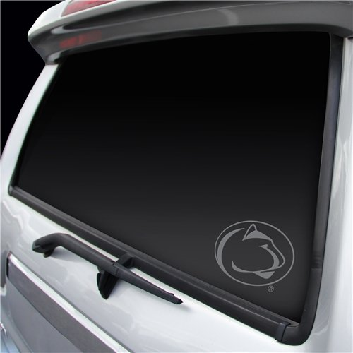Penn State Nittany Lions Decal Silver Window Graphic
