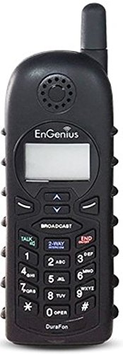 EnGenius DURAFON 1X-HC Long Range Industrial Cordless Phone Handset, Designed to Work With the EnGenius DuraFon 1X System, Functions as a Cordless Phone & Two-Way Radio, Compatible With DuraWalkie (Engenius Cordless Phone Handsets)