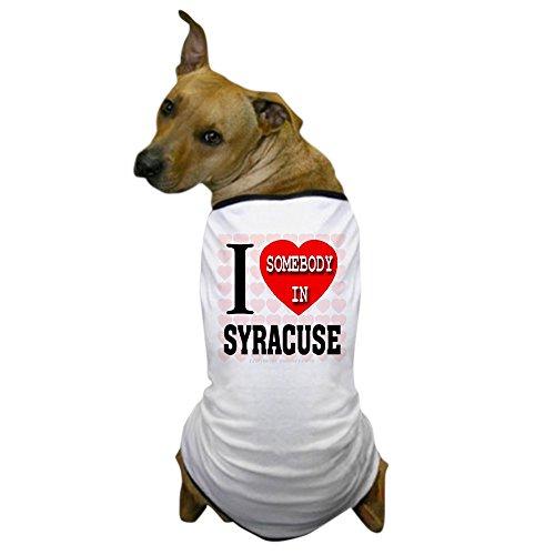 CafePress - I Love Somebody in Syracuse Dog T-Shirt - Dog T-Shirt, Pet Clothing, Funny Dog Costume