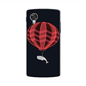 Cover It Up Whale Balloon Hard Case for Nexus 5 - Multi Color