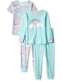 Gerber - Juego de Pijama para niña (4 Piezas)