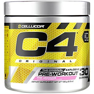 Cellucor, C4 Pre Workout (Old Formula) Supplements with Creatine, Nitric Oxide, Beta Alanine and Energy, G4v1, 30 Servings, Pink Lemonade (Best Cellucor C4 Flavor)