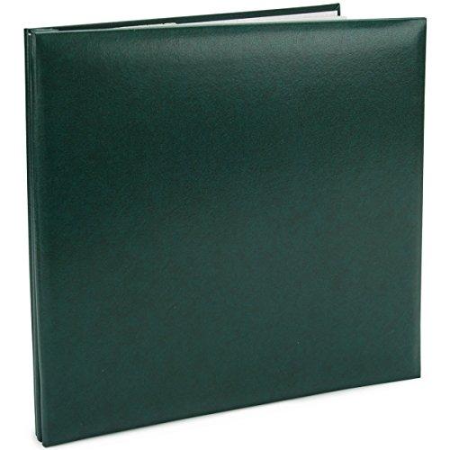 Postbound Album 12-Inch by 12-Inch, Green ()