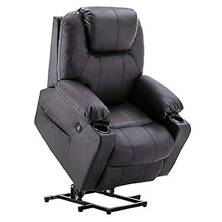 Mcombo Electric Power Lift Massage Sofa Recliner