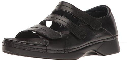 (Propet Women's Vitawalker Platform Dress Sandal Black 7.5 W US)