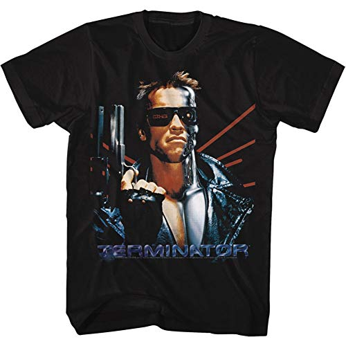 Idea Auto Supplies (American Classics Terminator 1984 SciFi Action Movie Arnold Serious Semi-Auto Gun Adult)
