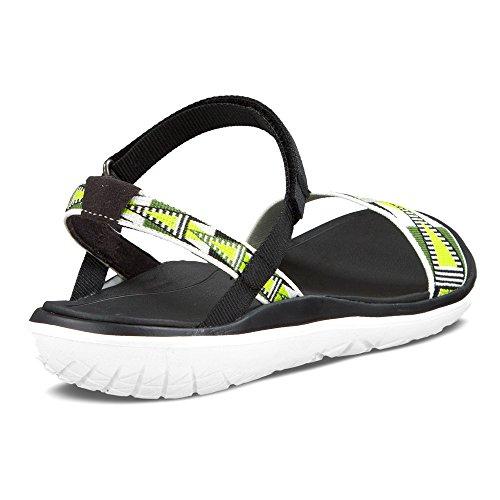 Damen Terra Teva Sandalette für Gelb Nova Weiß Float ApFBFWTR