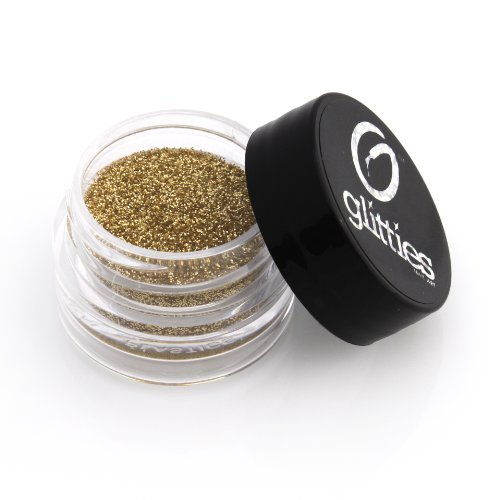 Gold Jewel - Holographic Gold Fine Glitter Powder .008 - 5 Gram Jar Solvent Resistant Glitter Made in the USA! Over 20 Amazing Shades to Choose From!