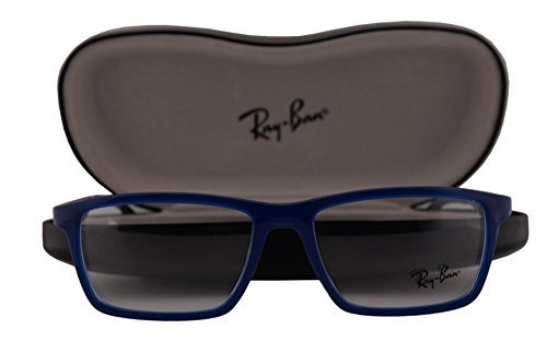 Ray-Ban RX7056 Eyeglasses 55-17-145 Blue 5393 RB7056 RX 7056 RB - Transition Ban Ray Sunglasses