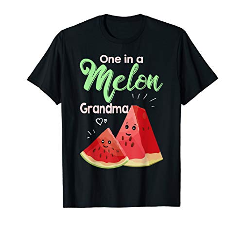 (One In A Melon Grandma Shirt Funny Watermelon T Shirt)