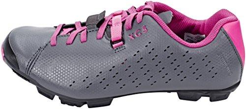 Shimano SH-XC5 - Zapatillas Mujer - Gris/Rosa 2018