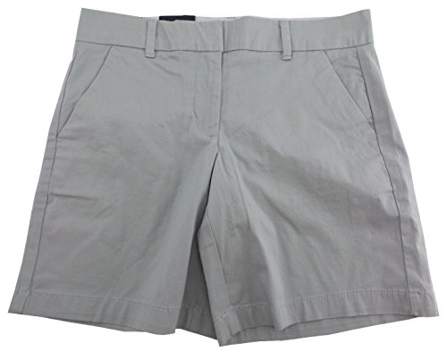 - Tommy Hilfiger Womens Flat Front Walking Shorts (2, Dove Grey)