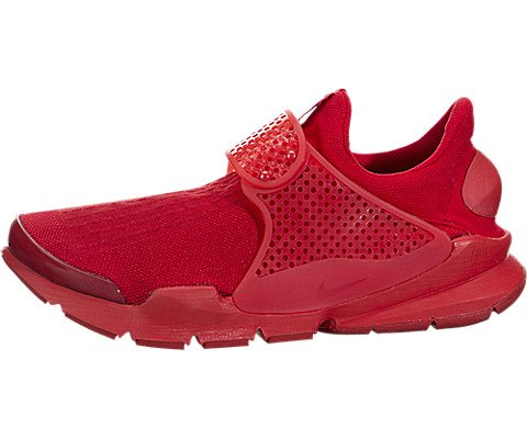 Nike Mens Sock Dart Lightweight Knit Running Shoes Red 11 Medium ()
