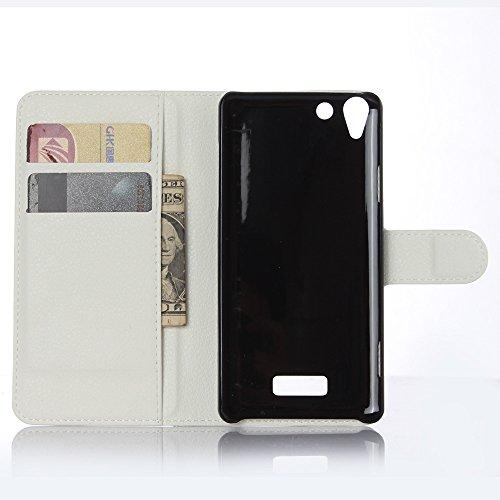 Funda WIKO Selfy 4G,Manyip Caja del teléfono del cuero,Protector de Pantalla de Slim Case Estilo Billetera con Ranuras para Tarjetas, Soporte Plegable, Cierre Magnético(JFC11-12) F
