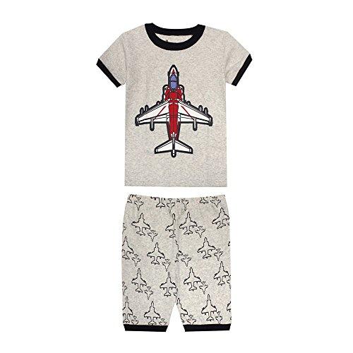 TinaLuLing-100-Cotton-Summer-Short-Sleeve-Boys-Pajamas-Sets-Baby-Sleepwear-Infant-Toddler-Pyjamas-Nightwear