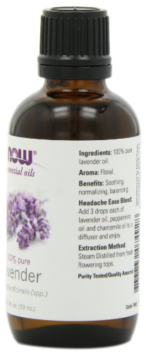NOW Foods Lavender Oil, 2 ounce - incensecentral.us