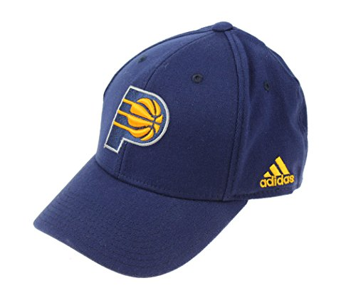 Indiana Pacers Cap - adidas NBA Flex Fit Hat, Various Teams (Indiana Pacers, OSFA)